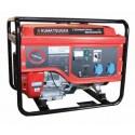 Γεννήτρια βενζίνης με AVR, μίζα και μπαταρία